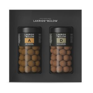 Lakrids by Bülow - Black gift box A+D