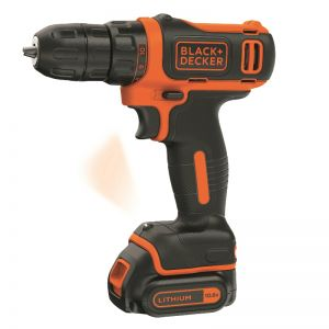 10.8V Lithium-Ion boremaskine Black n´ Decker
