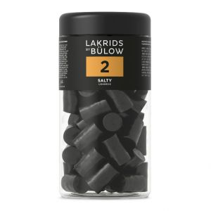 Lakrids by Bülow, nr. 2 salt lakrids_360g